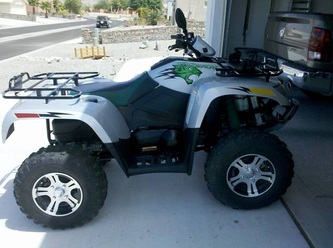 Thundercatwheeler on 2009 Arctic Cat Thundercat 1000 H2   Home